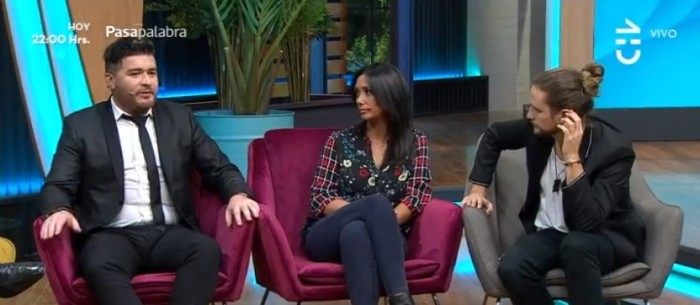 Pamela Díaz grabó divertido momento de Junior Playboy en comerciales