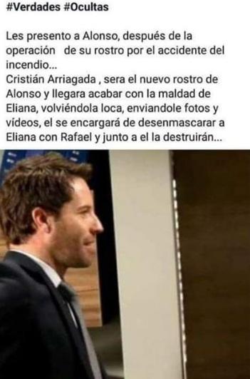 Teoría sobre Alonso en Verdades Ocultas
