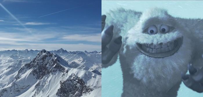 Yeti abominable hombre de las nieves