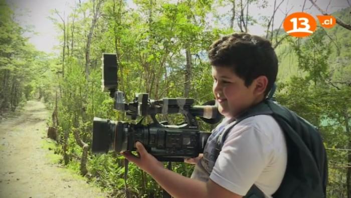 Yordan usa la cámara de Lugares que hablan