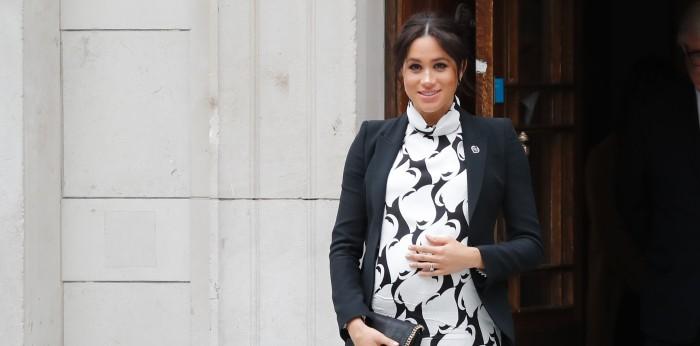 Palacio de Buckingham anunció que Meghan Markle está en trabajo de parto