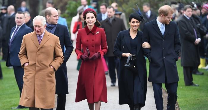 Príncipe Carlos, William y Kate conocen hijo de Harry y Meghan