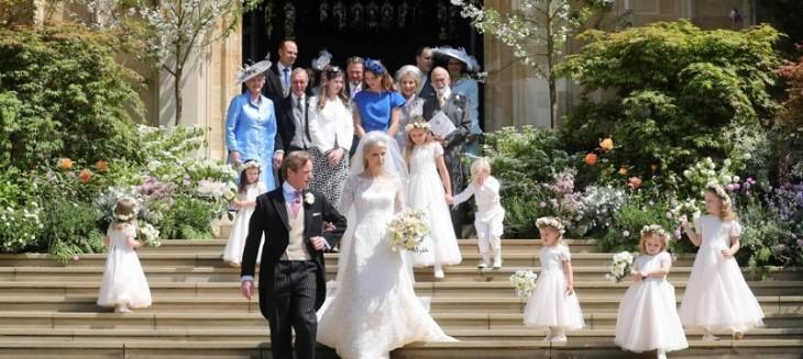 Una nueva boda real británica: Lady Gabriella Windsor se casó con el financiero Thomas Kingston