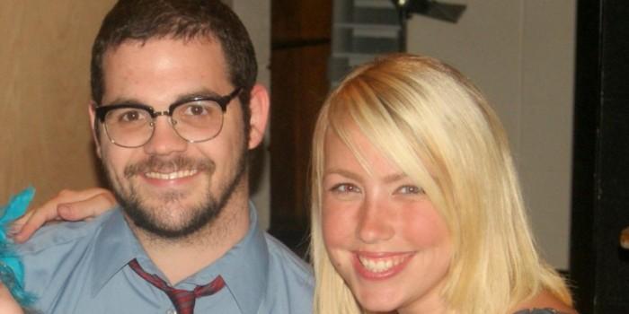 Seth Megow junto a su esposa