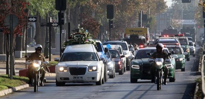 funeral del 'Pollito' que desató el caos en Conchalí