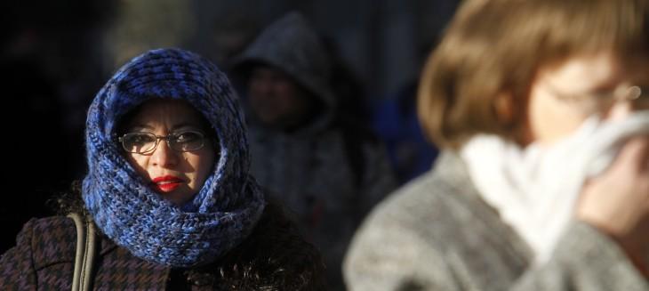 Bajas temperaturas en Santiago