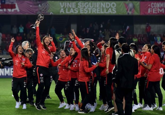 cumbia para la roja femenina al mundial