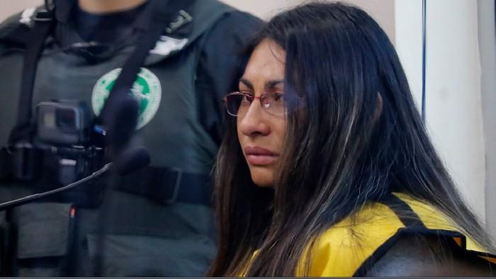 Johanna Hernández en juicio por caso Nibaldo