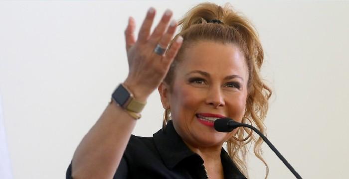 Cathy Barriga hizo su cuenta pública