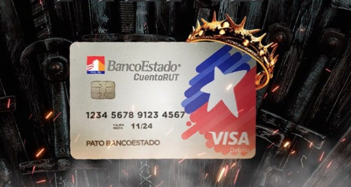 BancoEstado lanzó la CuentaRUT Visa Débito