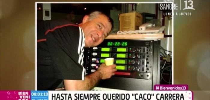 Murió Caco Carrera