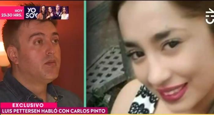 Luis Pettersem habló de la desaparición de Fernanda Maciel