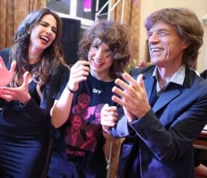 Lucas, el hijo brasileño de Mick Jagger
