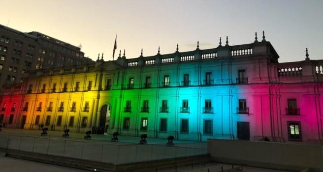 El Palacio de La Moneda conmemoró el Día Contra la Homofobia y Transfobia