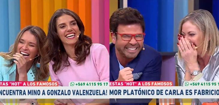 Amores platónicos de panel de Muy Buenos Días