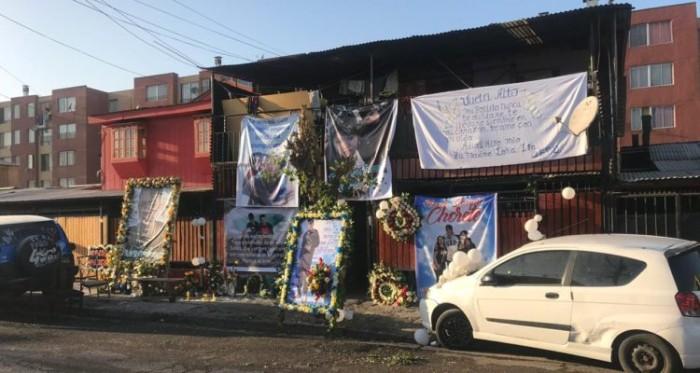 El cuerpo de Bastían López Reyes fue llevado a Chillán