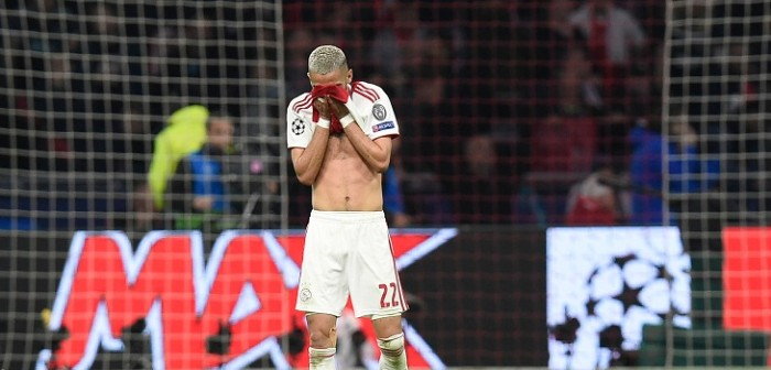 ajax eliminado de la champions league