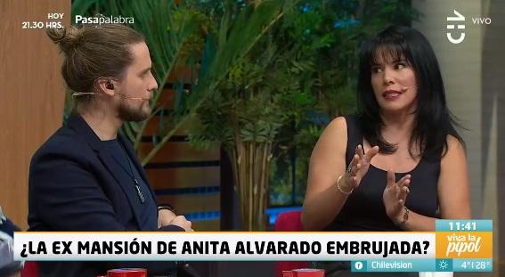 Anita Alvarado y Jean Philippe Cretton en Viva la Pipol