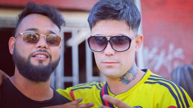 Sebastián Leiva y su amigo
