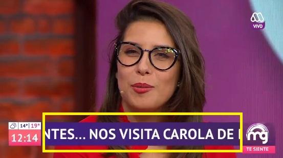 Carola de Moras no apareció en Mucho Gusto