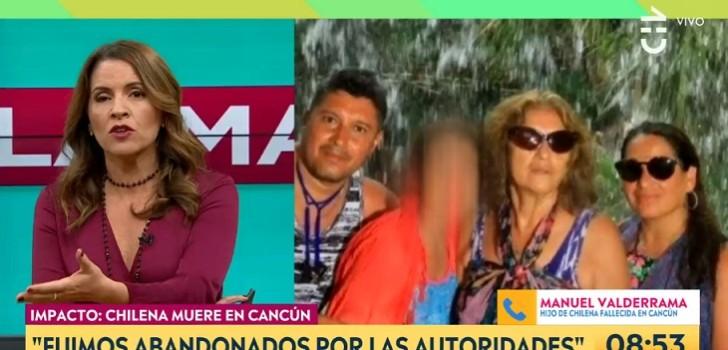 hijos de chilena fallecida en ancun hablaron en matinal de chilevision