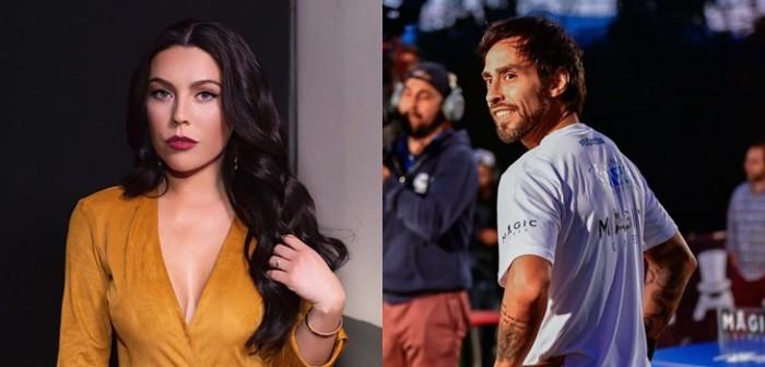 La romántica sorpresa que Jorge Valdivia le preparó a Daniela Aránguiz en partido de Colo Colo