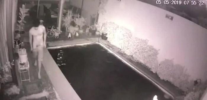 hombre entro a robar desnudo en san bernardo