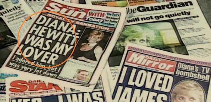 Confesión de Diana de Gales sobre James Hewitt