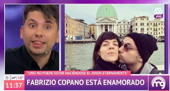 Fabrizio Copano reveló que será padre
