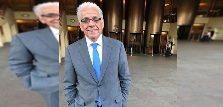 Reconocido periodista de TVN Fidel Oyarzo se encuentra internado en una clínica