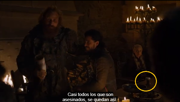 error vaso plastico game of thrones