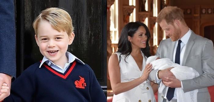 George habría revelado nombre del hijo de Meghan y Harry