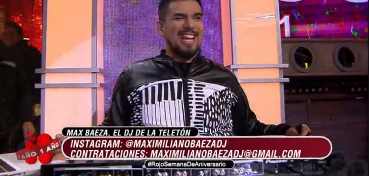 Max Baeza en Rojo