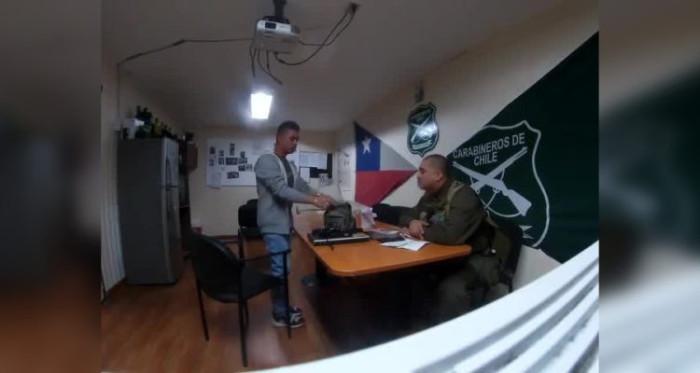 Un colombiano sobornó a carabinero con 1 millón de pesos