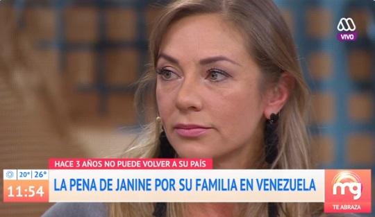 janine leal llora familia venezuela mucho gusto