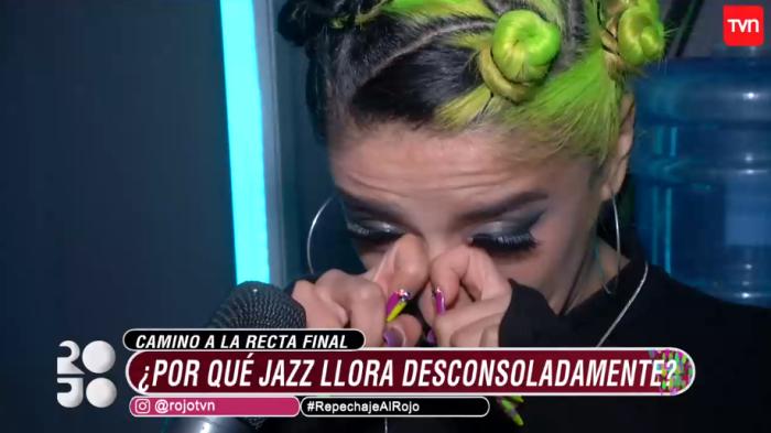 Jazz Torres emocionada en Rojo