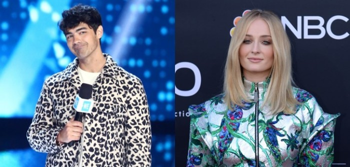 Joe Jonas y Sophie Turner Billboard 2019