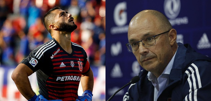 Las frases cruzadas entre Arias y Herrera sobre la ausencia del portero en el Clásico