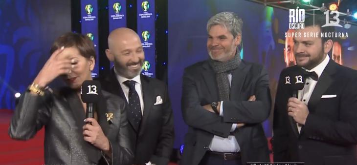 El desubicado comentario que Guarello le hizo a Fran García-Huidobro en la gala de 'Mi Amigo Alexis'
