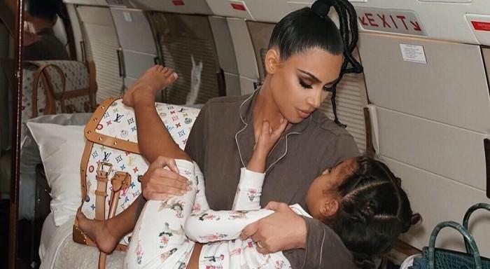 Kim Kardashian compartió videoclip dirigido por su hija North