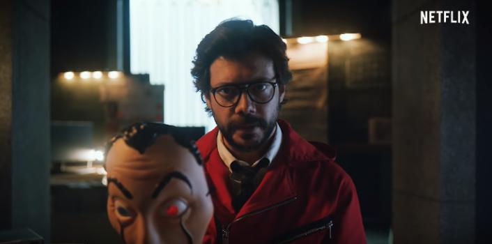 Netflix lanzó nuevo adelanto de La Casa de Papel