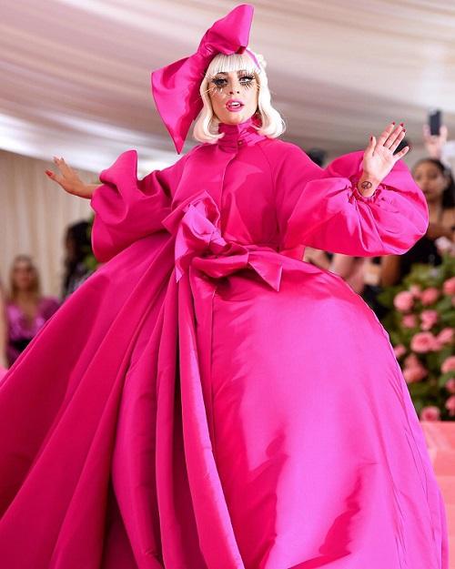 lady gaga y su primer vestido de la met gala