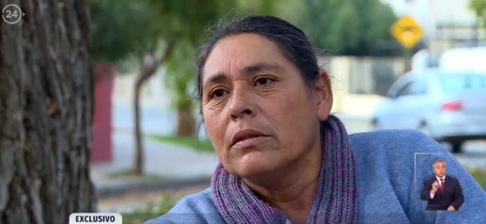 Madre de Johanna Hernández