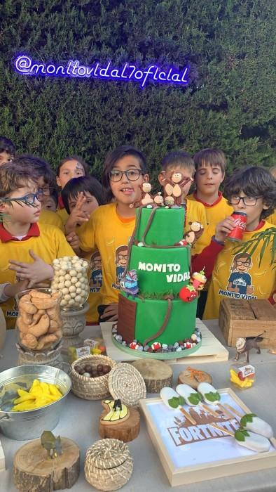 Cumpleaños Monito Vidal