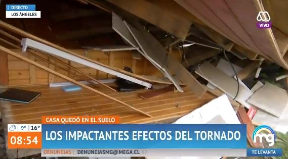 Niño relató cómo salvaron de milagro de tornado