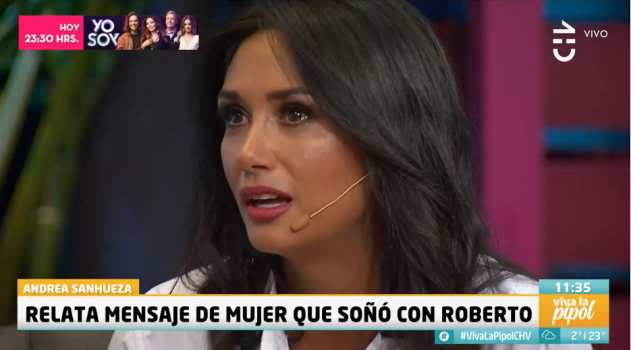 Pamela Díaz se emociona en Viva la Pipol