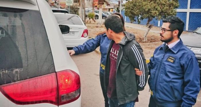 detenido violacion menor de edad