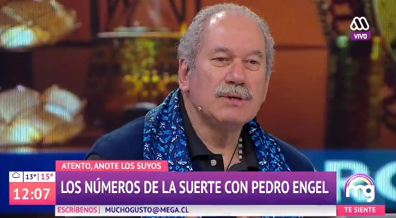 Pedro Engel se sumó a Mucho Gusto