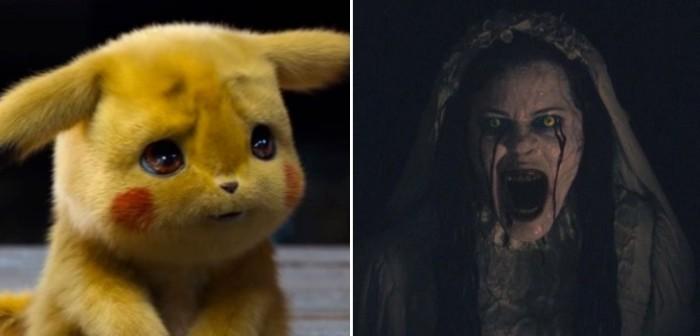 cine se equivocó y mostraron la llorona en vez de pikachu