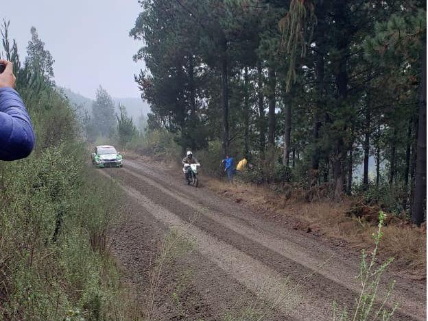 Rally WRC carabinero